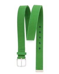 grüner Segeltuchgürtel