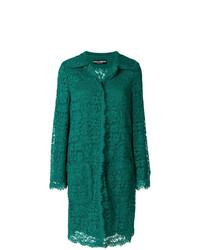grüner Spitzemantel von Dolce & Gabbana