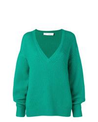 grüner Strick Oversize Pullover von IRO