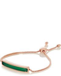 Grünes Armband von Monica Vinader