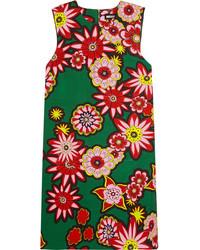 Grünes bedrucktes Gerade Geschnittenes Kleid von House of Holland
