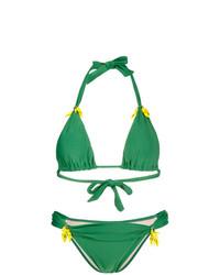 grünes Bikinioberteil von Adriana Degreas