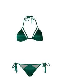 grünes Bikinioberteil von BRIGITTE