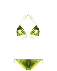 grünes Bikinioberteil von Oseree