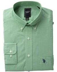 grünes Businesshemd
