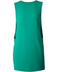 grünes gerade geschnittenes Kleid