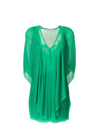 grünes gerade geschnittenes Kleid von By Malene Birger