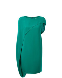 grünes gerade geschnittenes Kleid von Gianluca Capannolo
