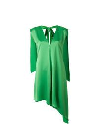 grünes gerade geschnittenes Kleid von MSGM
