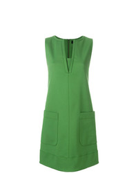 grünes gerade geschnittenes Kleid von Paule Ka