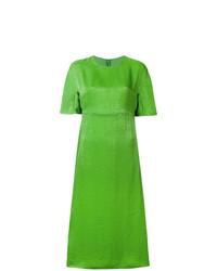 grünes gerade geschnittenes Kleid von Sies Marjan
