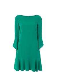grünes gerade geschnittenes Kleid von Talbot Runhof