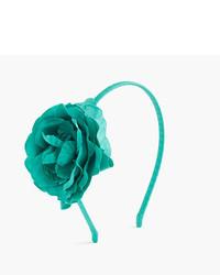 grünes Haarband