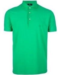 grünes Polohemd