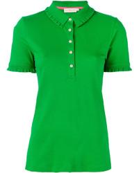 grünes Polohemd von Tory Burch