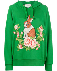grünes Sweatshirt von Gucci