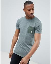 grünes T-Shirt mit einem Rundhalsausschnitt von Jack & Jones