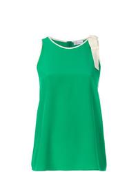 grünes Trägershirt von RED Valentino