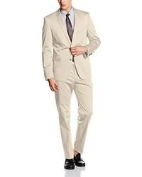 hellbeige Anzug von Strellson Premium
