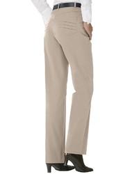 hellbeige Anzughose von COSMA