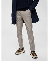 hellbeige Anzughose von Selected Homme