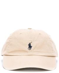 hellbeige Baseballkappe von Polo Ralph Lauren