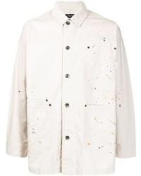 hellbeige bedruckte Shirtjacke von FIVE CM