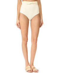 hellbeige Bikinihose von Mara Hoffman