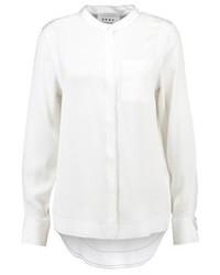 hellbeige Bluse mit Knöpfen von DKNY