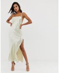 hellbeige Camisole-Kleid von ASOS DESIGN