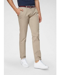 hellbeige Chinohose von TOM TAILOR POLO TEAM
