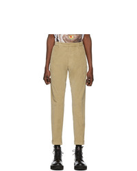 hellbeige Cord Chinohose