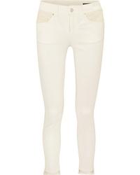 hellbeige enge Jeans von Alexander McQueen