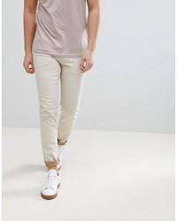 hellbeige enge Jeans von ASOS DESIGN