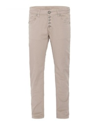hellbeige enge Jeans von BLUE MONKEY