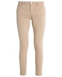 Hellbeige Enge Jeans von GUESS