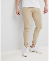 hellbeige enge Jeans von Saints Row