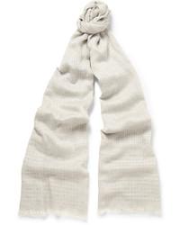 hellbeige gepunkteter Schal