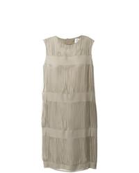 hellbeige gerade geschnittenes Kleid von Maison Margiela