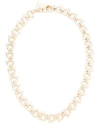 hellbeige Halskette von Salvatore Ferragamo