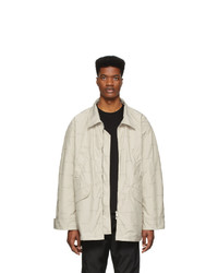 hellbeige Harrington-Jacke von Fear Of God