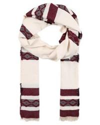 hellbeige horizontal gestreifter Schal von SPRINGFIELD