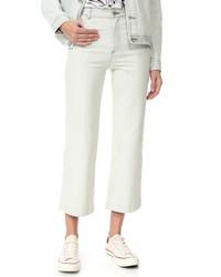 hellbeige Jeans von A.P.C.