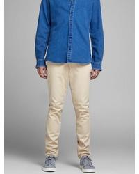 hellbeige Jeans von Jack & Jones