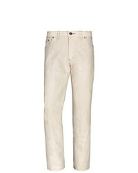 hellbeige Jeans von Jan Vanderstorm