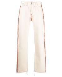 hellbeige Jeans von Maison Margiela