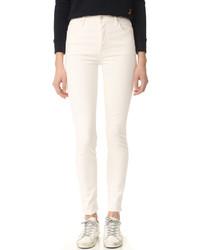 hellbeige Jeans von Mother