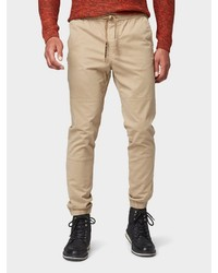 hellbeige Jogginghose von Tom Tailor Denim
