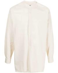 hellbeige Langarmhemd von Emporio Armani