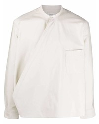 hellbeige Langarmhemd von Lemaire